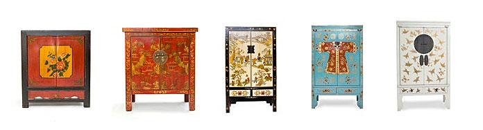 Colecci n oriental en for Muebles orientales online