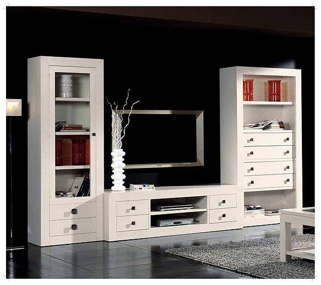 Sal n blanco colonial play no disponible en for Muebles de salon blancos clasicos