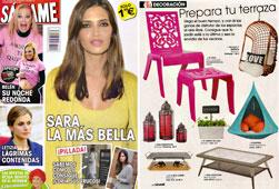 Revista Salvame - Abril 2015 Portada y P�gina 34