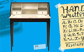 Bureau secreter vintage Cool