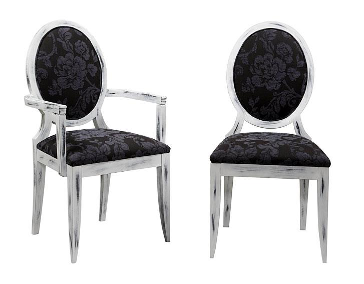 Sillas comedor clasicas tapizadas silla de comedor pamela for Sillas clasicas modernas