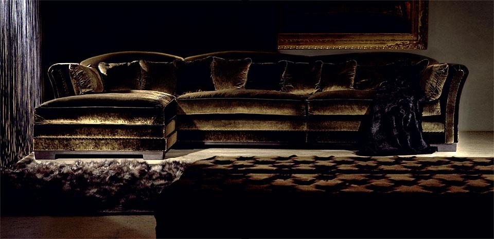 Sof charles 3 5 con chaise longue no disponible en for Sofas de lujo