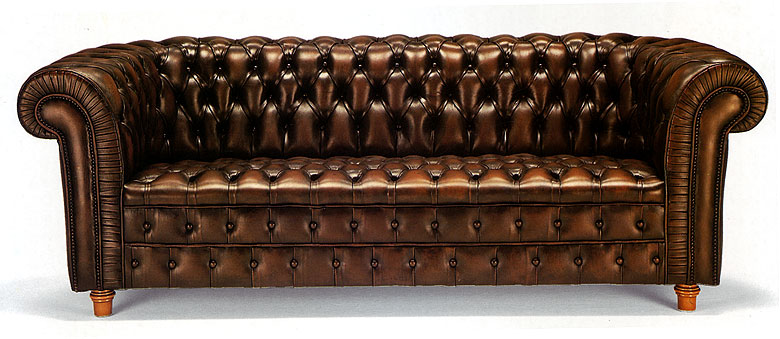 Sofa chester americano original no disponible en for Sofa clasico ingles