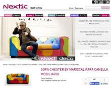 Sof� chester by Mariscal con Portobello - Marzo 2015