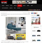 Nueva colecci�n de sof�s retro inspirados en la seria de televisiva Mad Men con Portobello - Febrero 2016