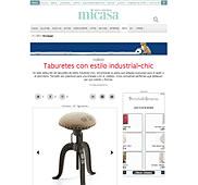 Taburete con estilo industrial con Portobello en foros.nuevo-estilo.es - Junio 2014