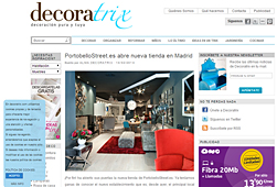 Tienda nueva de PortobelloStreet en decoratrix.com - Febrero 2014