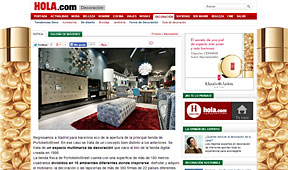 Tienda nueva de PortobelloStreet en hola.com - Abril 2014