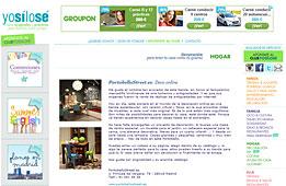 Tienda nueva de PortobelloStreet en yosilose.com - Abril 2014