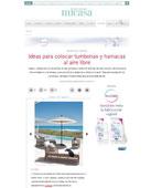 Tumbonas y hamacas al aire libre con Portobello - Junio 2015