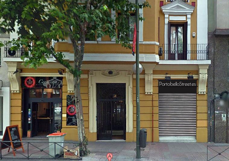 Ubicación de PortobelloStreet