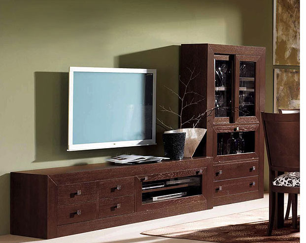 Vitrina y mueble tv colonial play no disponible en - Mueble tv colonial ...