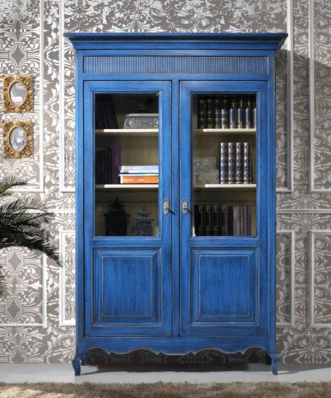 Vitrina 2 puertas vintage provenzal no disponible en for Decoracion puertas vintage