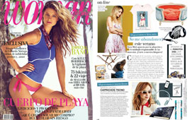 Revista Woman Madame - Junio 2016 Portada y P�gina 22