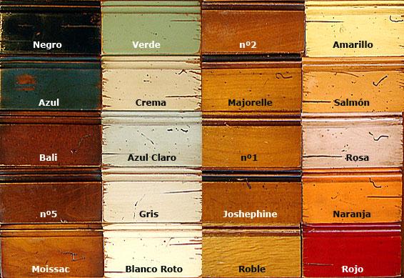 Acabados de madera de cerezo - Cabeceras pintadas en la pared ...