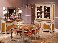 Mesa de comedor clásica Sarlat