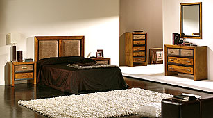 Dormitorio Japón Ratán